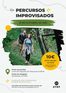 Read more about the article Percursos Improvisado – ATEF